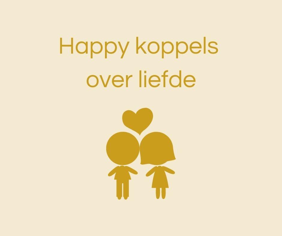 Happy koppels over liefde